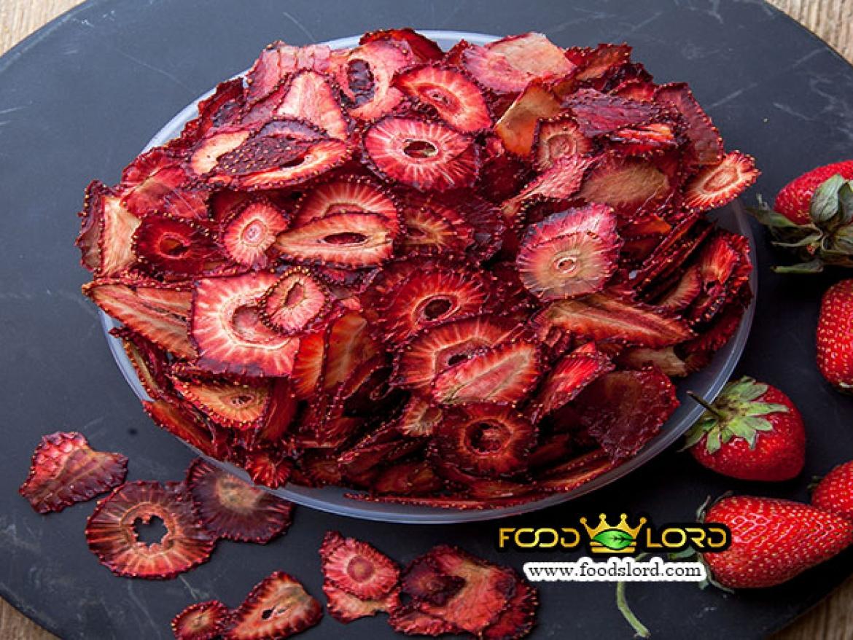 فودلرد - محصولات - توت فرنگی خشک اسلایس