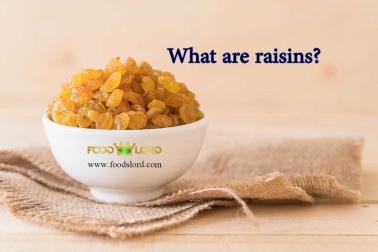 raisin or currant in bowl