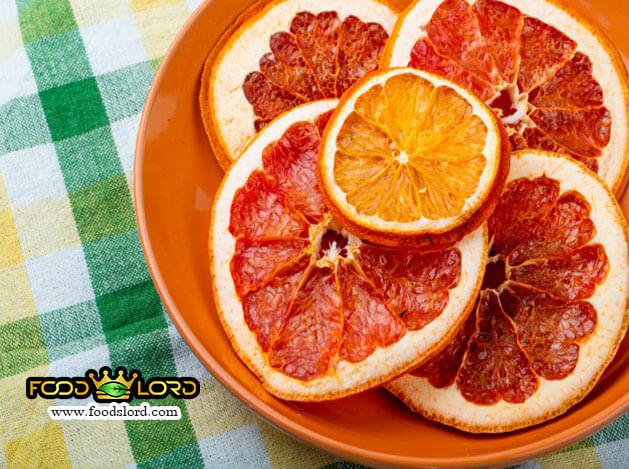 foodslord-Dried Grapefruit slice
