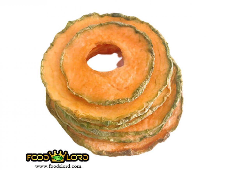 فودلرد- محصولات- خربزه خشک اسلایس با پوست
