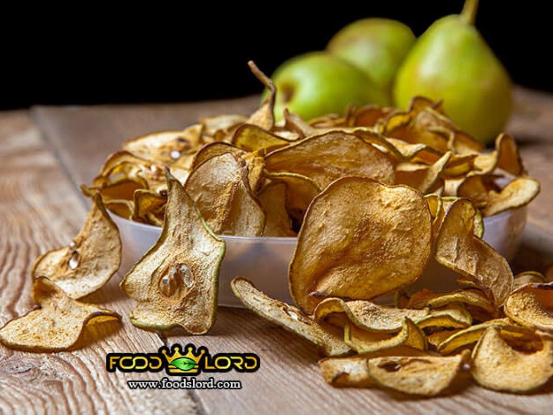 foodslord.com-Dried Pears slice