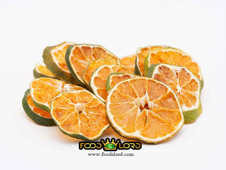 نارنگی ژاپنی خشک اسلایس با پوست