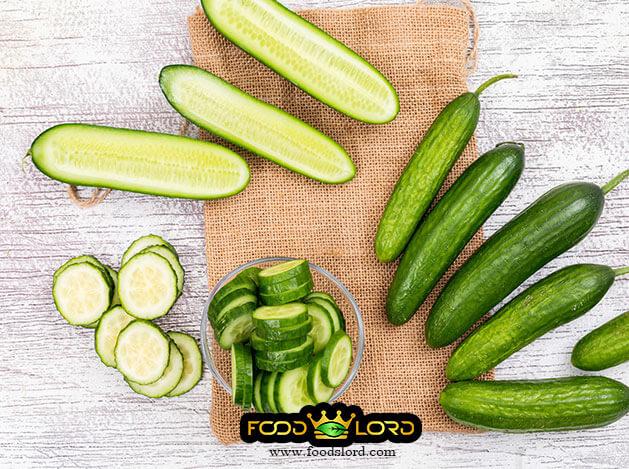 foodslorddotcom - fresh Cucumber