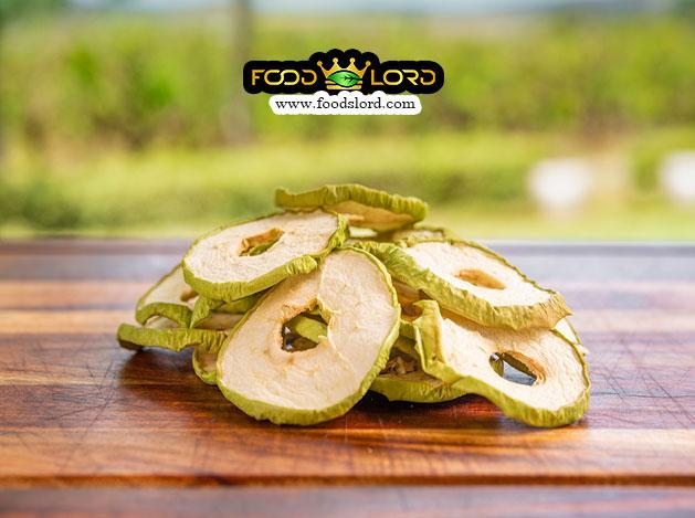 foodslord-Dried green Apple Slice