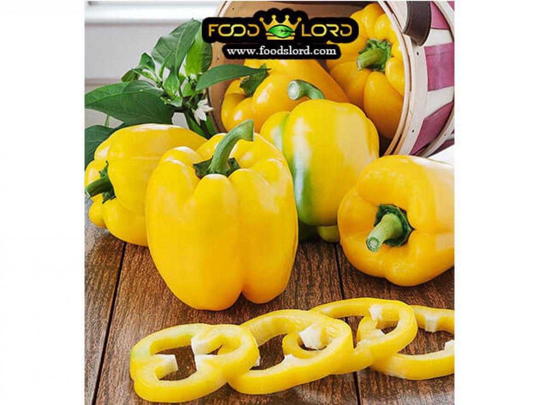 foodslord.com- fresh -Yellow Bell Pepper