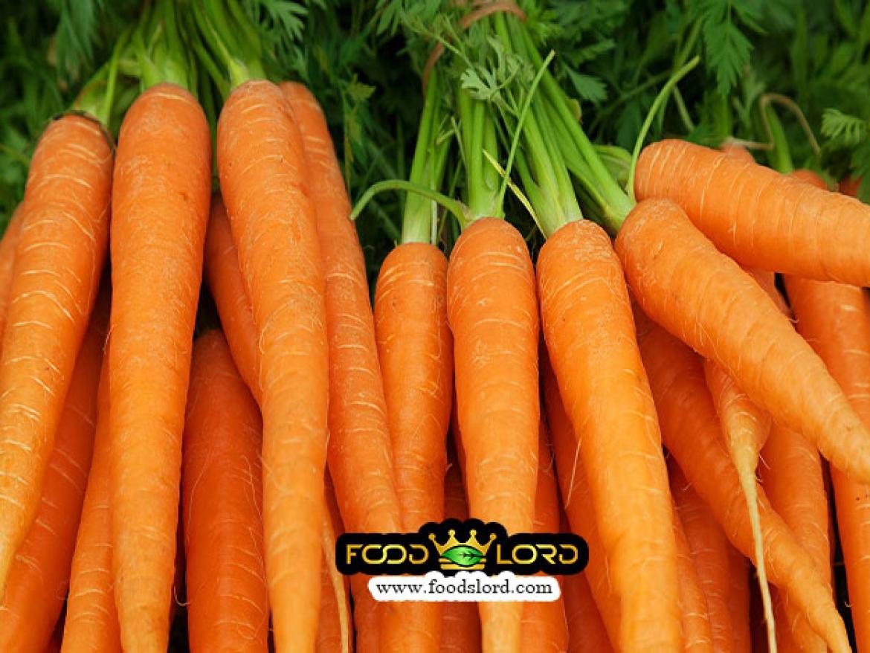 foodslord.com- fresh healthy carrots