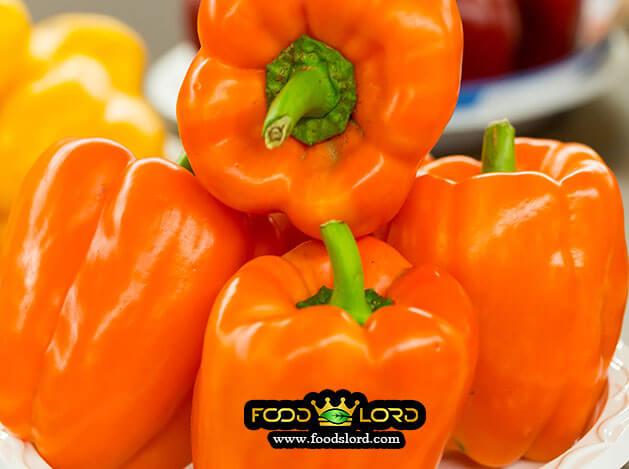 foodslord.com - Orange Bell Pepper