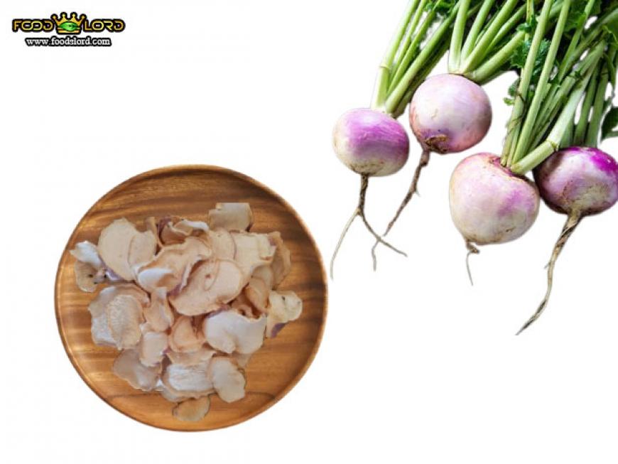 Foodslord.com - dried Turnip slice
