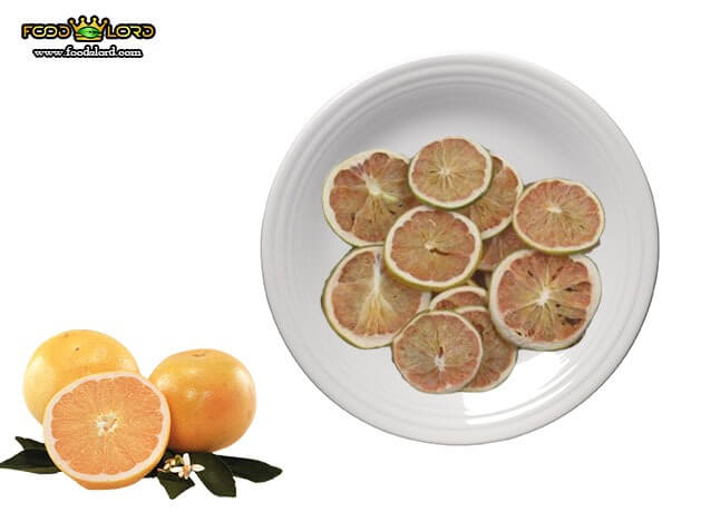 Foodslord.com - dried white grapefruit
